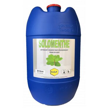 SOLOMENTHE - détergent désinfectant désodorisant pour les sols
