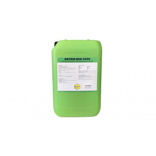 DETER BIO 3000 - détergent biologique pour fontaine bio net compact