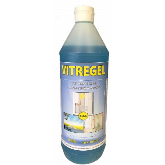 VITREGEL - nettoyant vitres à évaporation rapide 1 litre