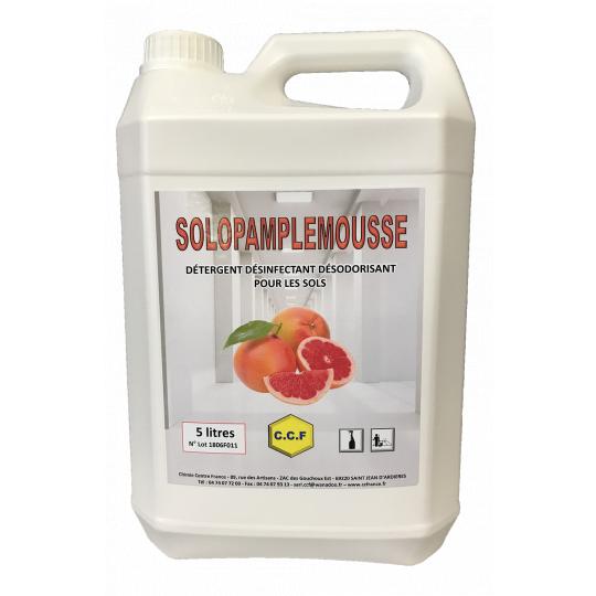 SOLOPAMPLEMOUSSE - détergent désinfectant désodorisant pour les sols