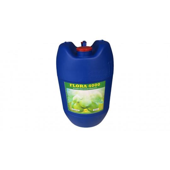 FLORA 4000 - nettoyant, désodorisant et dégraissant - citron vert