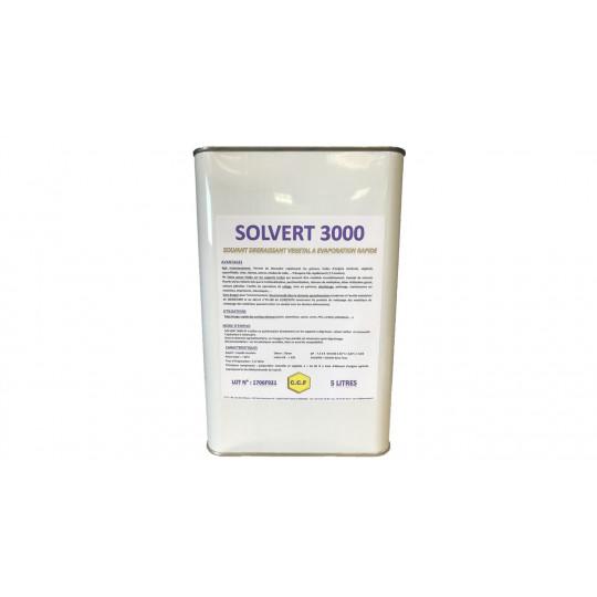 SOLVERT 3000 - solvant dégraissant végétal à évaporation rapide