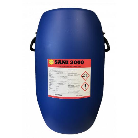 SANI 3000 - détergent concentré surodorant fraise