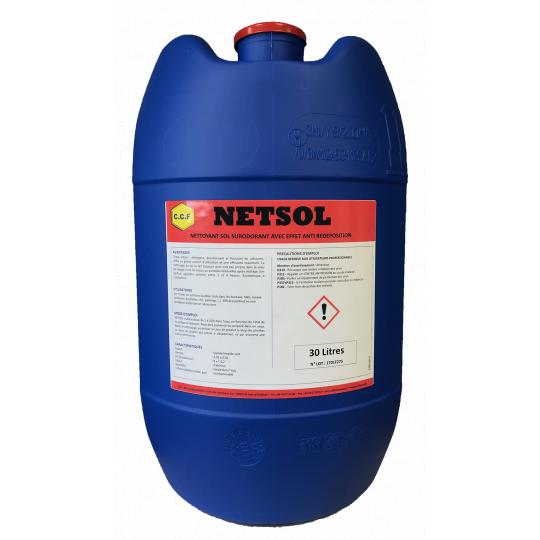NETSOL - nettoyant sol surodorant avec effet déposition