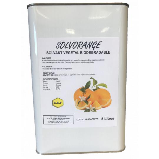 SOLVORANGE - solvant végétal biodégradable