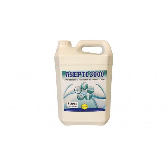 bactéricide pour la désinfection des surfaces et objets