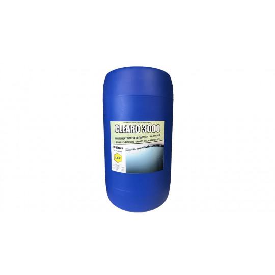 CLEARO 3000 -traitement contre le tartre et la rouille pour les circuits des chaudières en circuits fermés