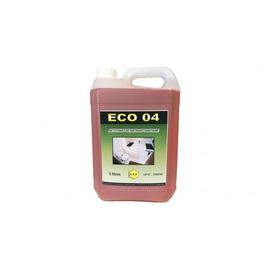 ECO 04 - nettoyant, détartrant sanitaires - 5L