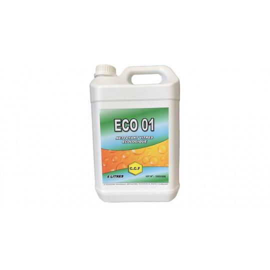 ECO 01 - Nettoyant vitres écologique