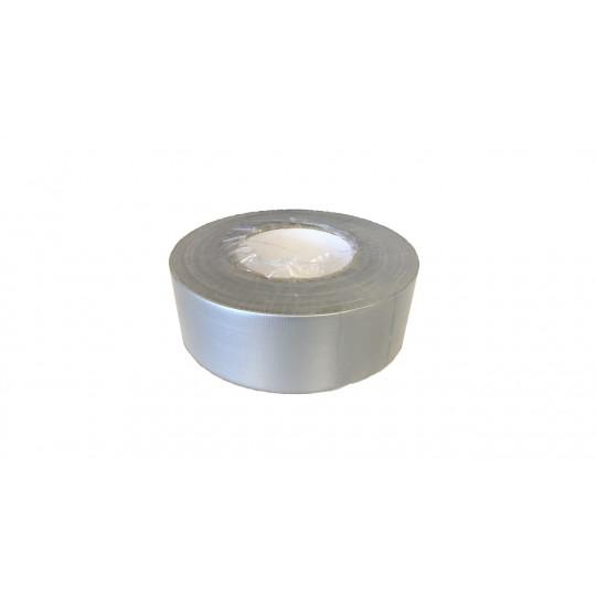 rouleau adhésif américain toile multi-fonctions tous supports gris aluminium