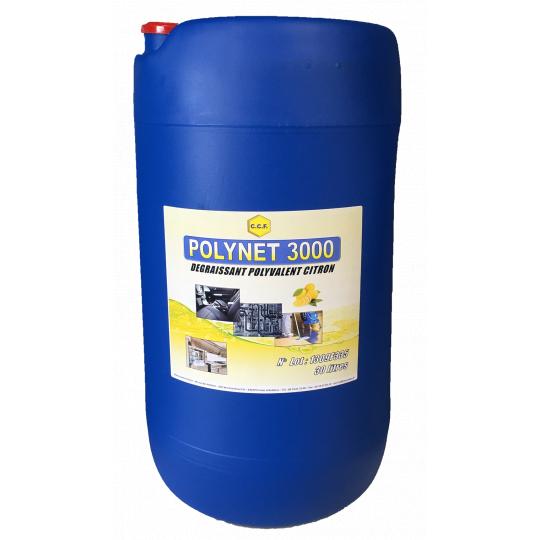 POLYNET 3000 - dégraissant polyvalent citron