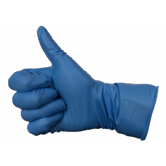 SUPER BLUE - Gants d'examen en nitrile
