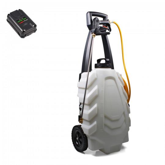 MOBIPULVE 30 - pulvérisateur éléctrique 30 litres sur chariot