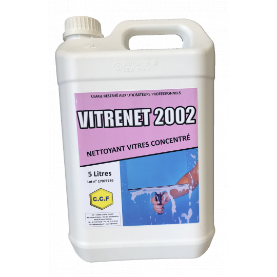 VITRENET 2002 - nettoyant vitres concentré