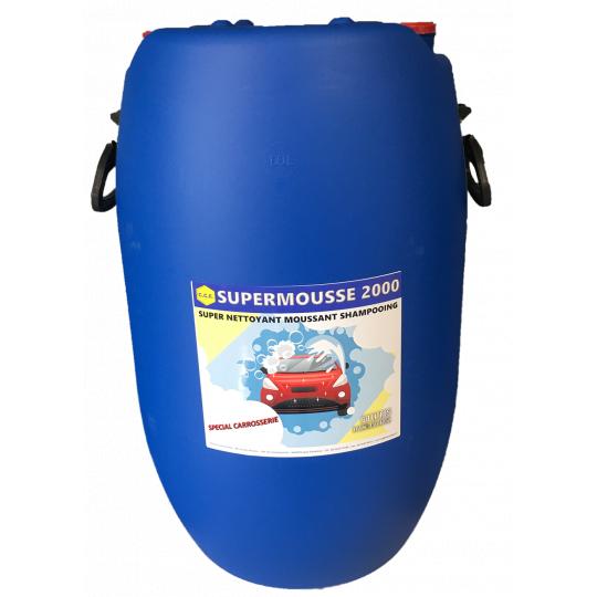 SUPER MOUSSE 2000 - super nettoyant moussant, shampoing spécial carrosserie