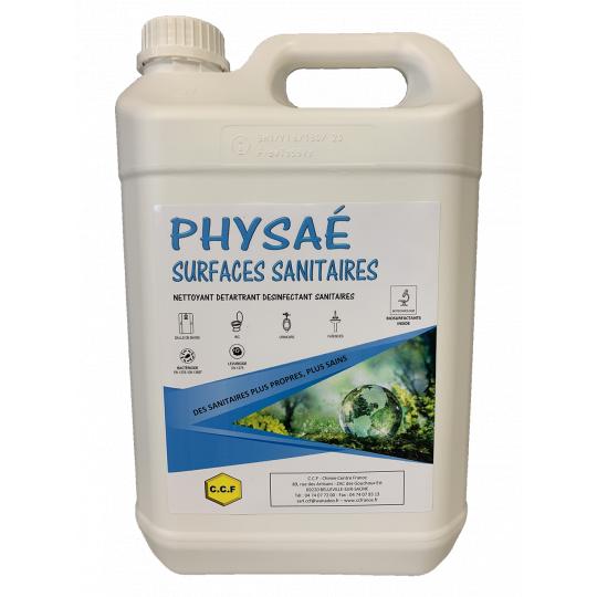 PHYSAE SURFACES SANITAIRES - Nettoyant détartrant désinfectant sanitaires