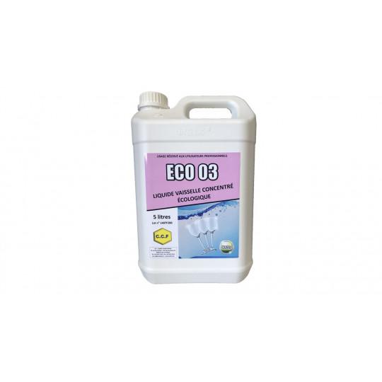 ECO 03 - liquide vaisselle concentré écologique