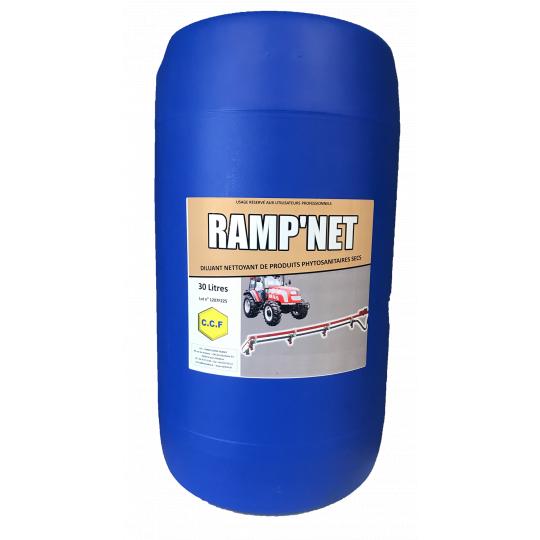 RAMP'NET - diluant, nettoyant de produits phytosanitaires secs