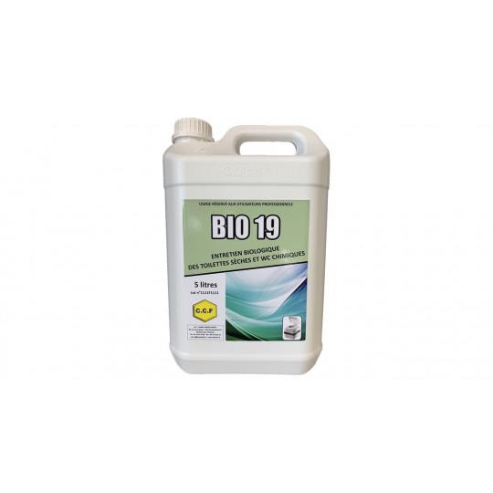 Entretien biologique des toilettes sèches et wc chimiques