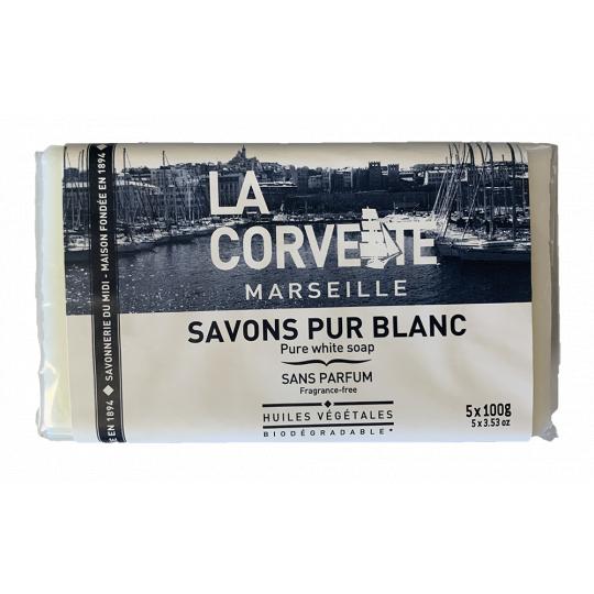 Savon pur blanc - Blocs de savons de Marseille