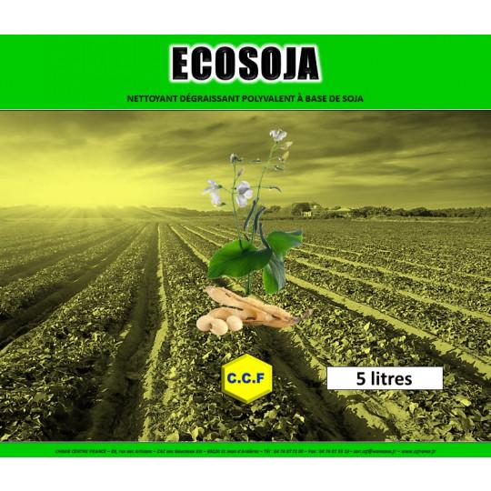 ECOSOJA - nettoyant, dégraissant polyvalent à base de soja